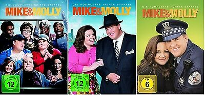 Mike & Molly - Season/Staffel 3+4+5 * DVD Set * NEU OVP * (and,und)