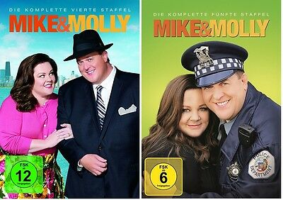 Mike & Molly - Season/Staffel 4+5 * DVD Set * NEU OVP * (and,und)