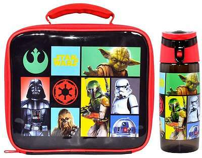Star Wars 'Heroes and Villains Lunch Bag/Box and Tritan Hydration Bottle (500ml)