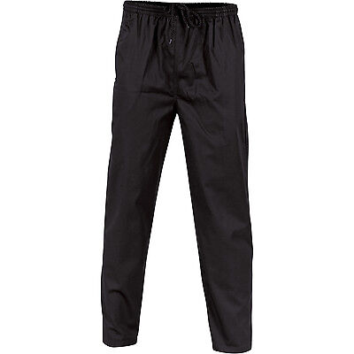 DNC Workwear Unisex Polyester Cotton Drawstring Chef Pants (1501)