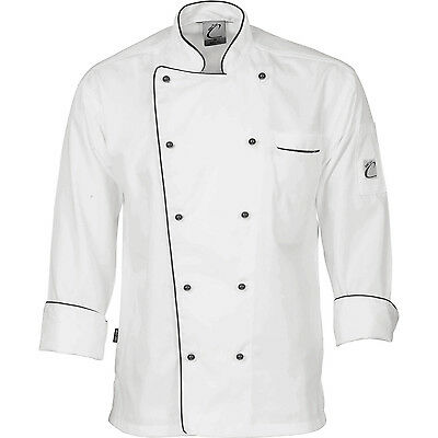 DNC Workwear Unisex Classic Chef Jacket - Long Sleeve (1112)