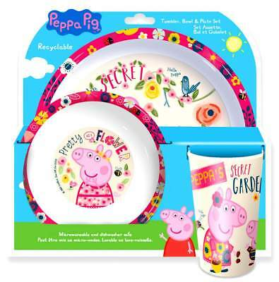 Peppa Pig 'Once Upon A Time' 3-Piece Dinner Set | Dinnerware | Tableware