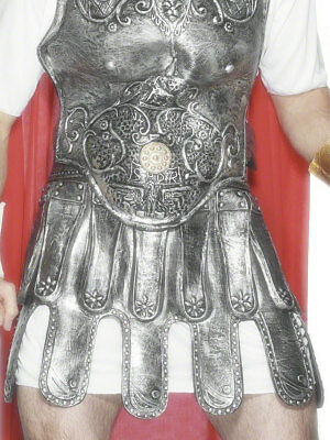Roman Armour Skirt Mens Roman Gladiator Fancy Dress Outfit Accessory