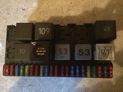 Corrado/Passat/Jetta/Golf Fuse Box With Relays And Fuses