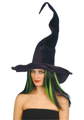 Witches Hat Ladies Fancy Dress Costume Accessory Halloween Witch Hat Tall