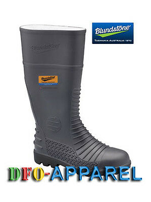 Blundstone Grey Comfort Arch Steel Toe And Midsole Boot (024)