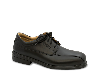 Blundstone Black Full Grain Leather Safety Lace Up Shoe (780)