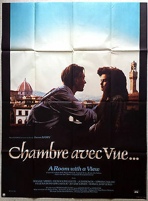 1985 A ROOM WITH A VIEW Helena Bonham Carter James Ivory 47x63 french poster