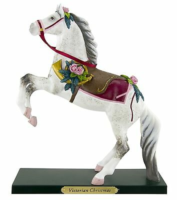 TRAIL OF PAINTED PONIES - Victorian Christmas - Horse Figurine - 1E / 1761