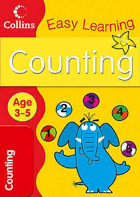 Learn Counting Age 3-5, Book. New