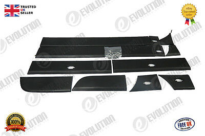 Renault Master Iii Side Door And Body Moulding 6 Pieces 2010  Swb & Lwb, O/s