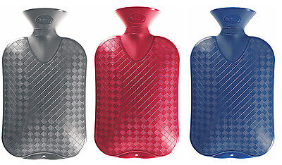 Plain Fashy Latex Free 2.0L Hot Water Bottle