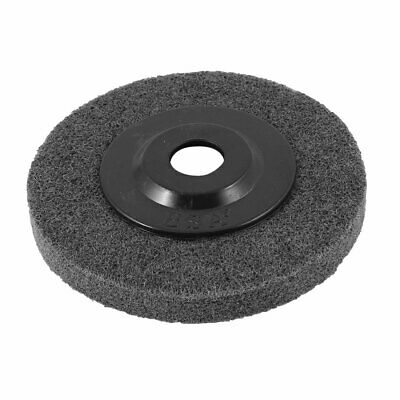 Hardware Tool Double Sided 10.2cm x 1.3cm Polishing Pad Black for Metal Working