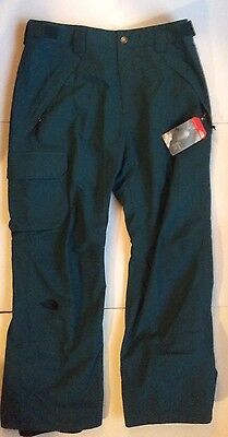 The North Face Men's Seymore Hyvent 2L Shell Pants Medium In Petrol Green