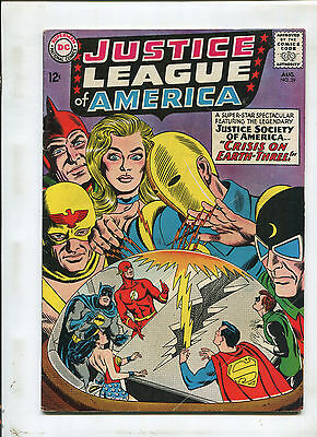 Justice League Of America #29 (5.0) Crisis On The Earth-Three! 1962