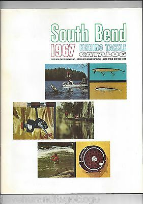 1967 South Bend Fishing Tackle Catalog Great Reference Collectible Super Clean!!