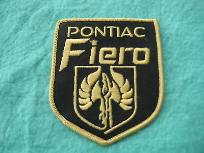"Vintage Pontiac Fiero Patch  3 1/8 "" X 3  5/8"""