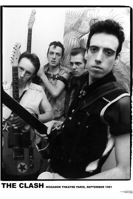 "The Clash Mogador Theatre NEW A1 Size 84.1cm x 59.4cm - approx 33"" x 24"" Poster"