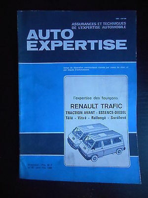 Auto expertise n°87 01/1981 Renault Trafic traction avant essence - diesel