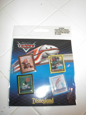New in Original Package - Disney CARS set of 4 trading pins
