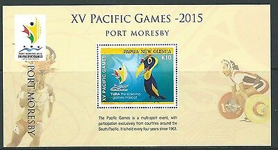 Papua New Guinea 2015 South Pacific Games Unmounted Mint, Mnh
