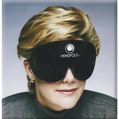 Mindfold Sleeping Sleep Eye MASK Aid Blindfold w/ FREE Earplugs Made in the USA