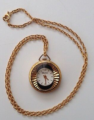 Vintage Lucerne Necklace Watch