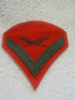Lot of 2 Vintage Military Patches