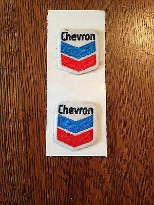 Chevron Iron On Patches Set Of 2 - Embroidered - Nos