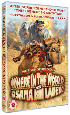 Where in the World Is Osama Bin Laden? DVD (2008) Morgan Spurlock ***NEW***