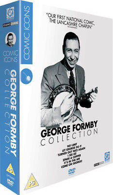 George Formby Collection DVD (2007) George Formby ***NEW***