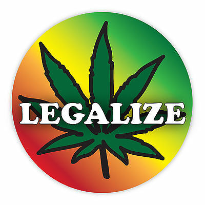 Legalize Marijuana Legalize Cannabis Weed Custom Sticker Decal