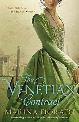 The Venetian Contract by Fiorato, Marina Book The Cheap Fast Free Post