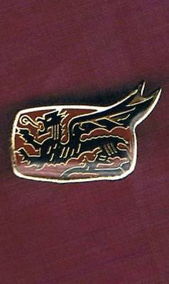 Israel Idf The Flying Dragon Sq. Ouragan Skyhawk A-4 Obsolete Pin Vintage 2 Left