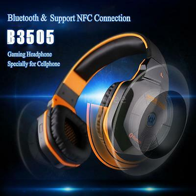 KOTION EACH B3505 Bluetooth 4.1 PC PS3 Xbox Laptop Gaming Headset Headphone 6NU2
