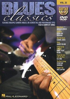 Guitar Play-Along DVD Volume 23: Blues Classics Gitarre DVD (Region 0)