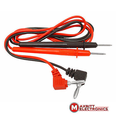 20A Replacement Universal Digital Multimeter Test Lead Probe Pin Cable