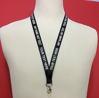 Custom Printed Personalised Lanyard Neck Strap