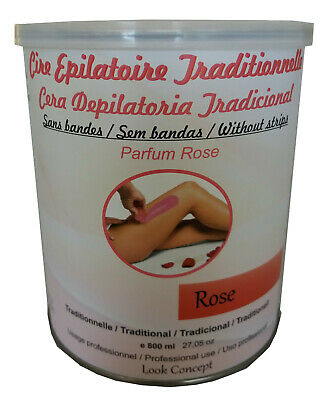 POT 800 ml CIRE TRADITIONNELLE, EPILATION PROFESSIONNELLE
