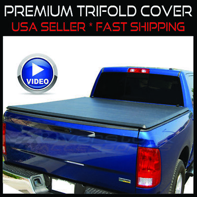 2002-2017 Dodge Ram 1500 6.4ft Bed|03-17 2500/3500 NEW TRI-FOLDING TONNO COVER