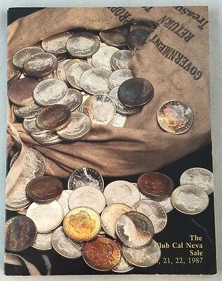 Rare Reno Casino The Club Cal Neva Sale Numismatic Auction Coins Superior 1987