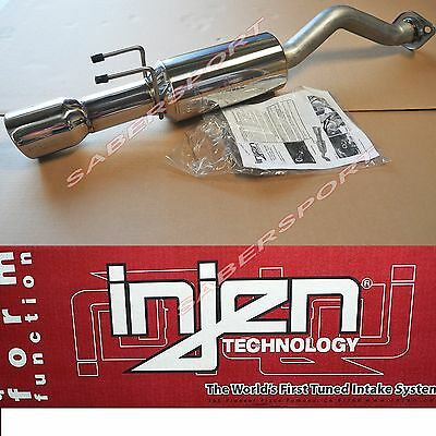 """""""IN STOCK"""" Injen S.S Axle Back Exhaust System for 2012-2015 Honda Civic Si"""