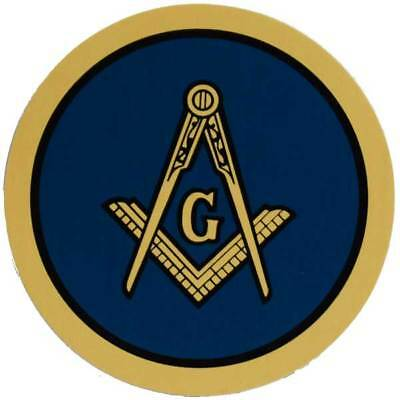 "Masonic Mason 3"" Prism Decal Sticker"