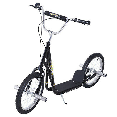 HOMCOM Adult Teen Push Scooter Kids Children Stunt Scooter Bike Bicycle Ride On