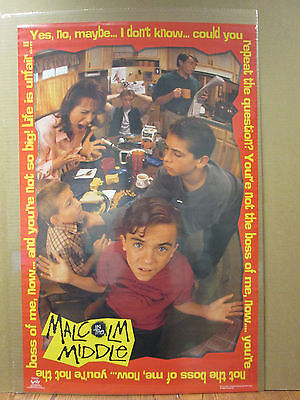 vintage Malcolm in the Middle Tv series poster 2001 6838