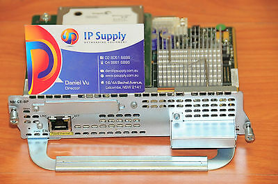 Cisco NM-CE-BP-80G-K9 Module 6MthWtyTaxInv