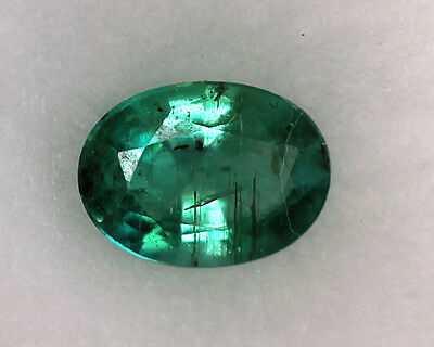 0,76 ct Emeraude Naturelle de Zambie Super qualité