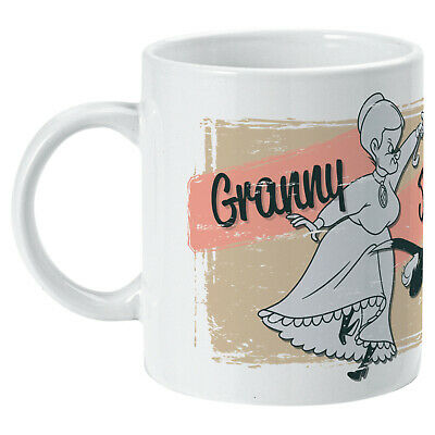 Sylvester Tweety Granny Chase Mug - Looney Tunes Cartoon - Kitchen Home Office