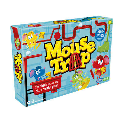 Mouse Trap Board Game - The Crazy Game with 3 Action Contraptions