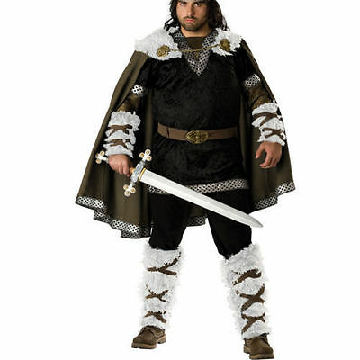 Mens Super Deluxe Viking Warrior Costume Soldier Fancy Dress Large /xl n4881  sc 1 st  PicClick UK & MENS SUPER DELUXE Viking Warrior Costume Soldier Fancy Dress Small ...